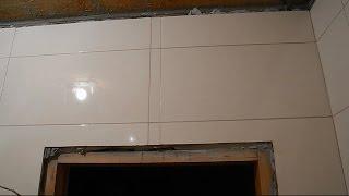 Простой способ укладки плитки вокруг дверей ч.2(В ролике показано как точно подрезать и подогнать переходные вставки из плитки,которые состыкуют обе плоск..., 2014-11-30T12:40:08.000Z)