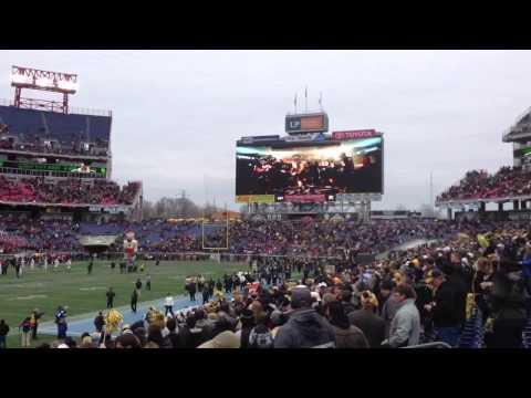 Vanderbilt Team Entrance at Music City Bowl