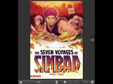 Learn English thru story books:The Seven Voyages of Sinbad