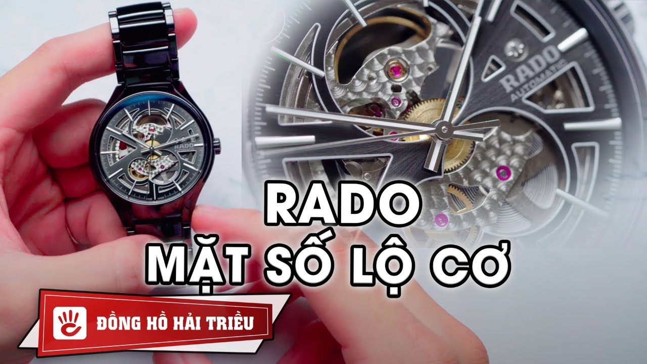 Review đồng hồ Rado True Open Heart R27100112