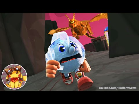 Pac-Man And The Ghostly Adventures Walkthrough Part 3 - Netherworld - World 3 [1080p] No Commentary