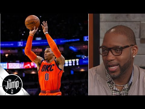 Thunder need Russell Westbrook to 'shoot better', not less - Tracy McGrady | The Jump
