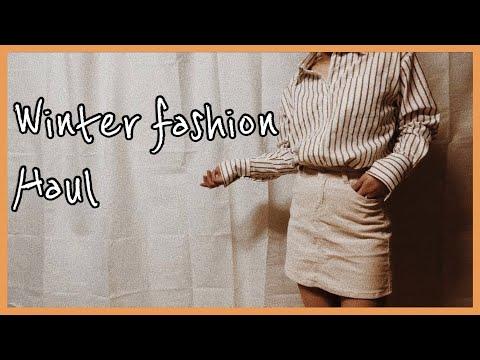 [FASHION] 엉즌 겨울 패션 하울⛄️ , 9가지 아이템 같이 입어봐요!