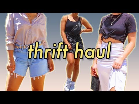 I Plan My Outfits for a Week (Thrifted ONLY) | MeganBatoon
