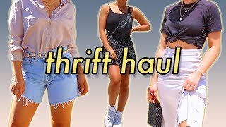 I Plan My Outfits for a Week (Thrifted ONLY)   MeganBatoon