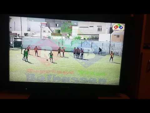 Free kick Skander Ben Moussa vs Esperance de Tunis