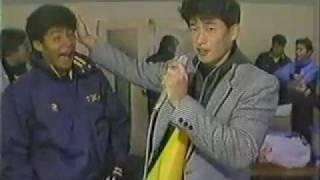 カズ(三浦知良選手)の激励(?) アデミールサントス 検索動画 3