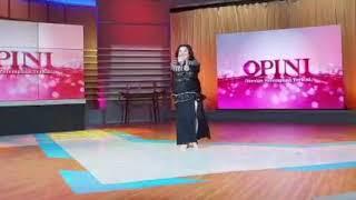 Bellydance Jakarta: Christine Yaven on Opini Kompas TV (July 2018)