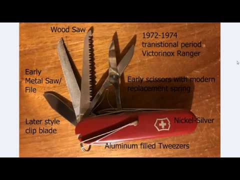 The Victorinox Swiss Army Ranger Scissors Repair And