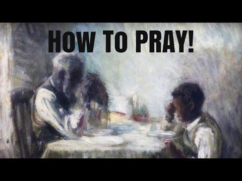 PRAYING THE RIGHT WAY!!  (audio recording)