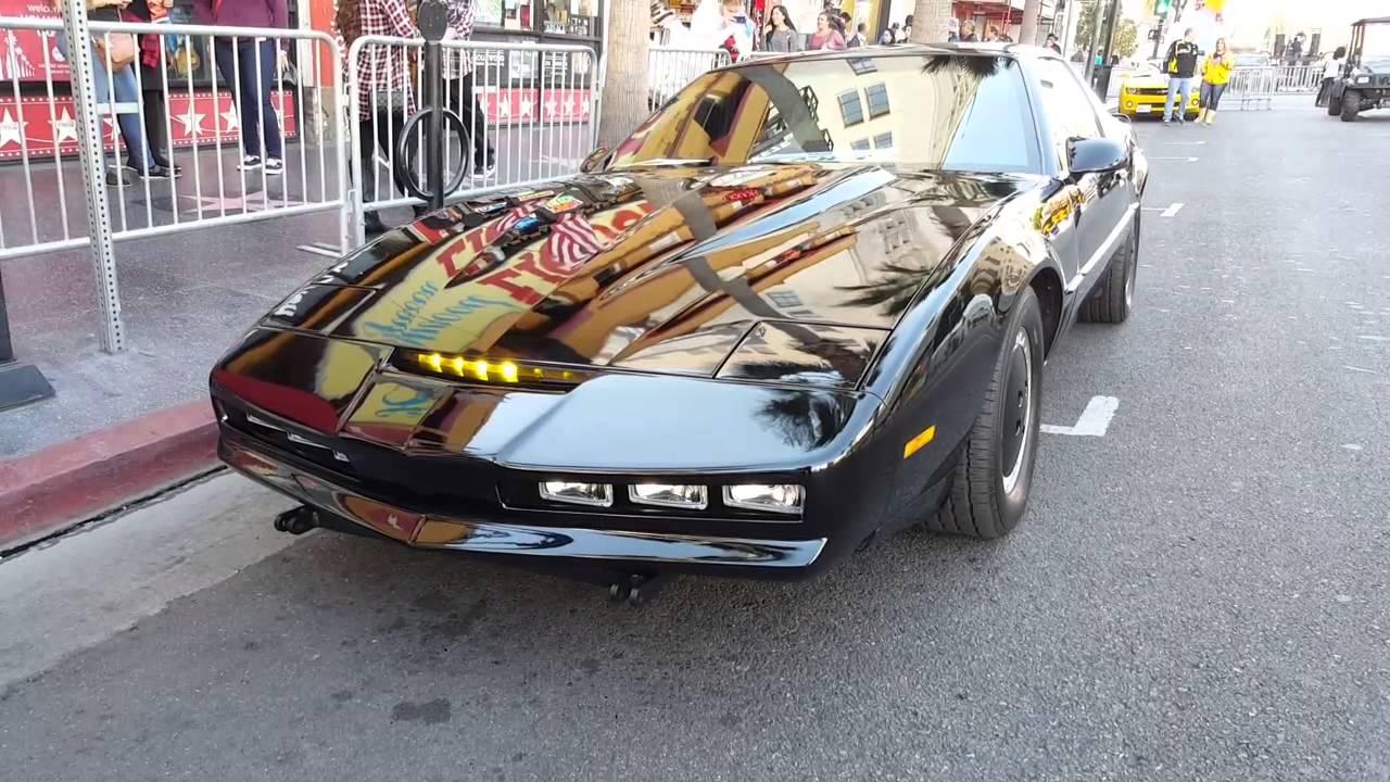 Knight Rider KARR at Hollywood Christmas Parade 2015