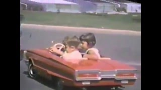 Cruisin' in my red T-Bird convertible -Ottawa 1964