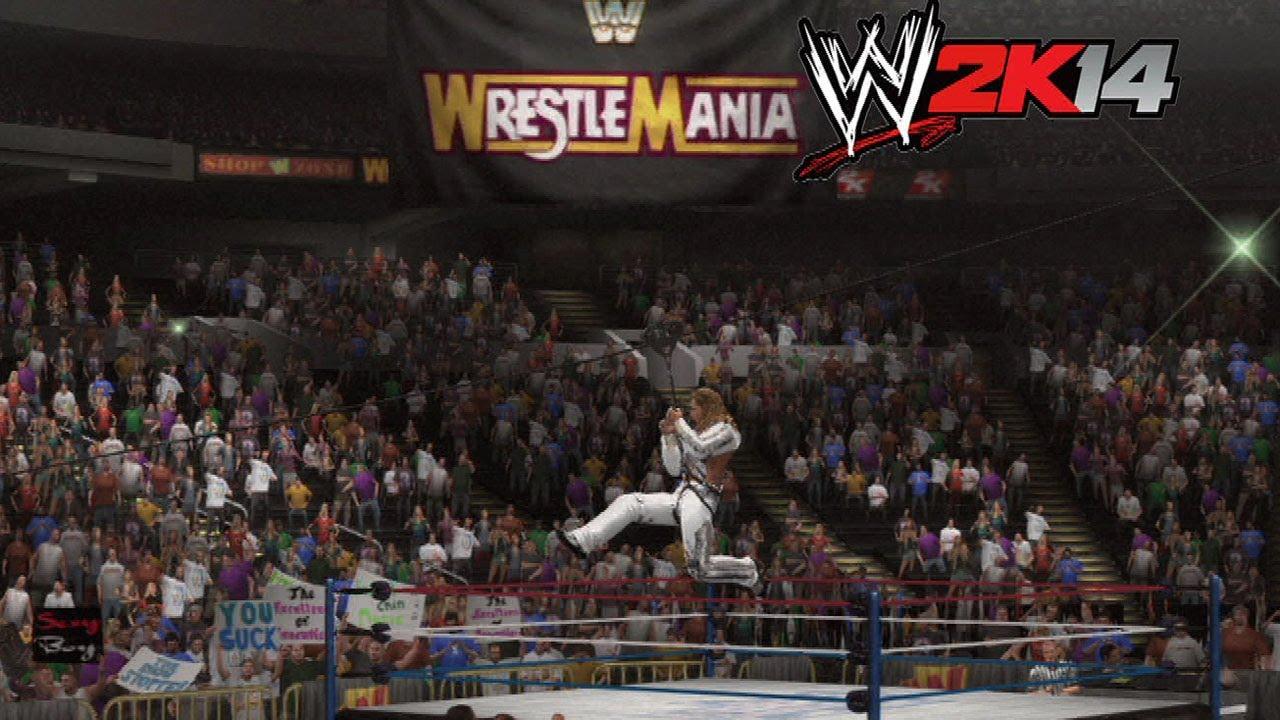 Shawn michaels wrestlemania 12