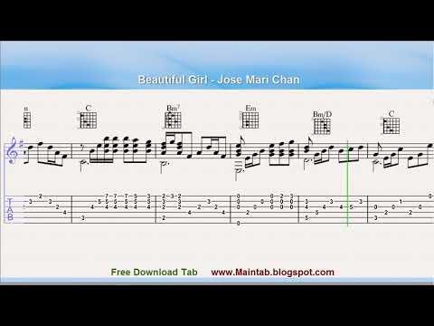 Beautiful Girl - Jose Mari Chan (Guitar Tab)