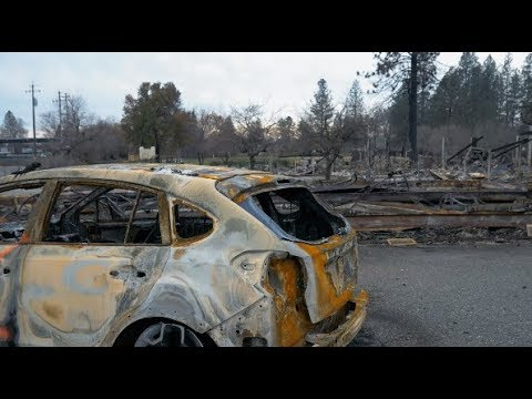 Post-Apocalyptic Views of a Devastating Wildfire — CAMP FIRE Paradise, California