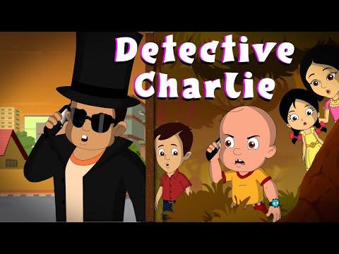 Mighty Raju - Detective Charlie's Mission!   Hindi Cartoon For Kids