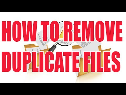 How To Delete Duplicate Files Windows 10 7 8