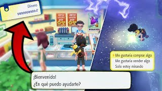 ¡COMO GANAR MUCHO DINERO!💰💲 en Pokémon Lets GO Pikachu / Eevee [TRUCO de DINERO]