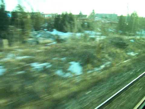 GO Train ride - Near Georgetown