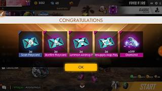 How To Get Daily Special Airdrop In Free Fire In 10 Rs | 299 Diamond Free | 1000% Working