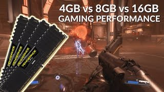 ram 4gb vs 8gb vs 16gb gaming performance 10 games tested 1080p
