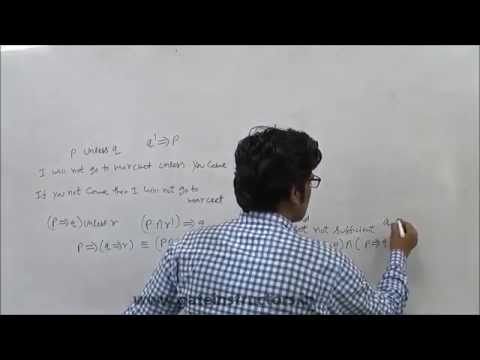 Conditional and Biconditional Connectives | GATE LECTURE : Discrete Mathematics | 15