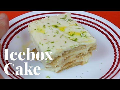 Easy No-Bake Lime Icebox Cake