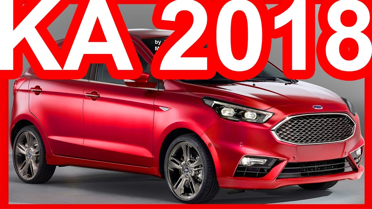 PHOTOSHOP Ford Ka 2019 Facelift #KA - YouTube