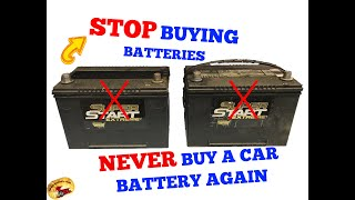 How To RENEW CAR & TRUCK Batteries at Home & SAVE BIG MONEY!