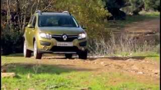 Тест драйв Renault Sandero Stepway 2015 ч1