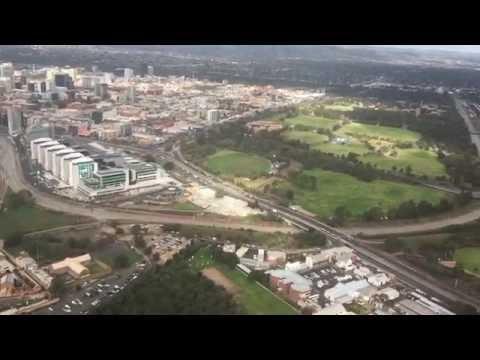 Flying over #Adelaide CBD, #AUSTRALIA