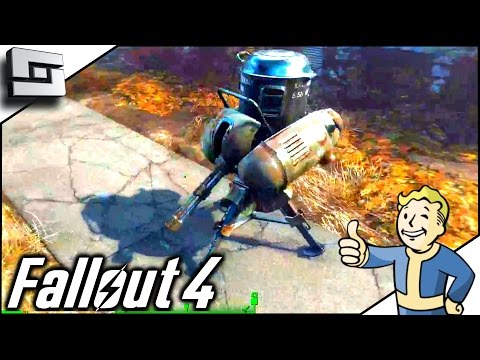 Fallout 4 Gameplay - DEFENDING SANCTUARY! Ep 5