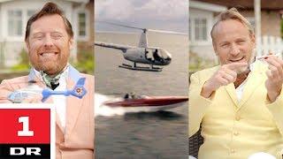 Helikopter vs. powerboat med Snobberne | Versus | DR1