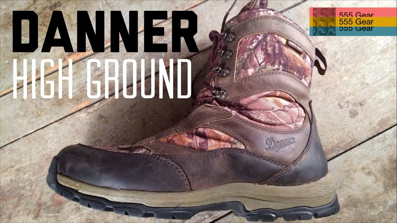 Review: Danner High Ground 8&quot Hunting Boots Realtree Xtra 1000G