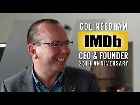 IMDb's Col Needham on Building World's Biggest Movie Database From 'Paper Diary'