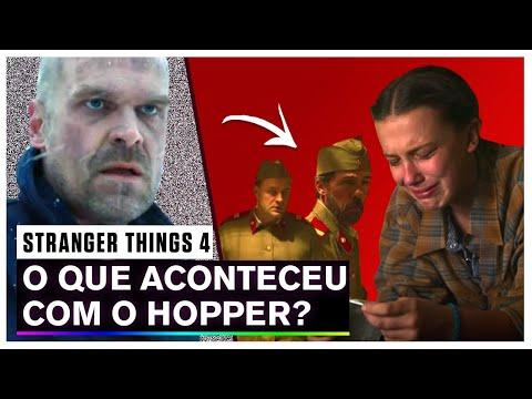 🔴 STRANGER THINGS 4 | Futuro do HOPPER revelado? (Teoria 4ª TEMPORADA)