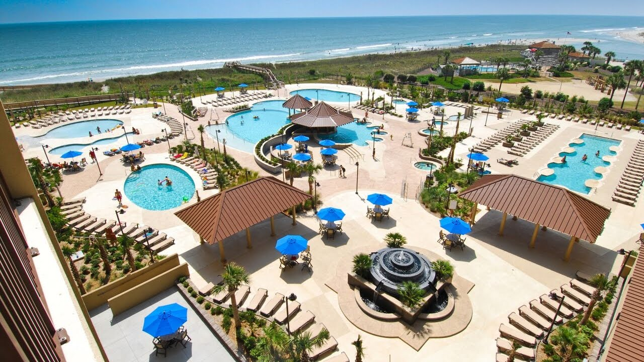 North Beach Plantation Feature Water Pool Amenities