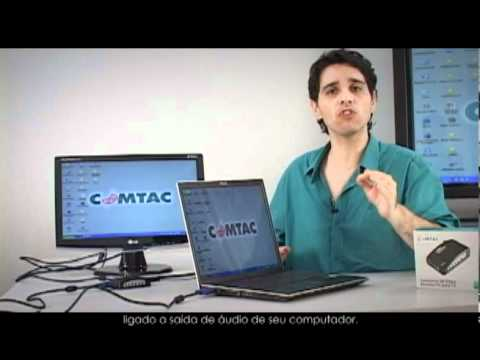 Conversor de Vídeo - Monitor PC para TV
