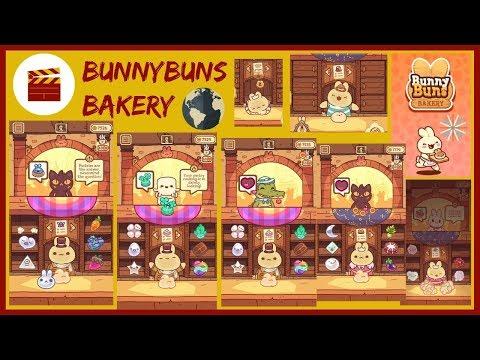 "BunnyBuns Walkthrough - BunnyBuns Bakery And ""Nice Dessert!"" (iOS)"