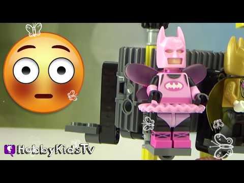 Mr. Freeze DESTROYS Batman's Cave! HobbyKidsTV
