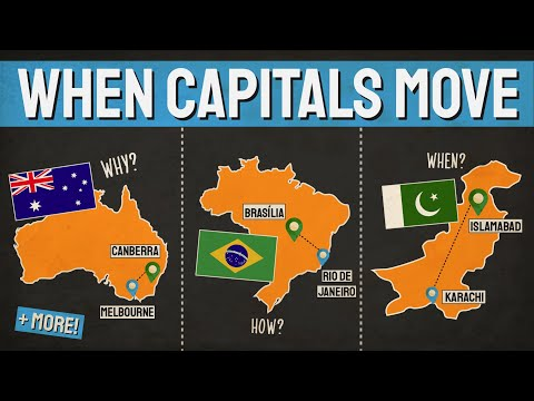 Countries That Moved Their Capital City