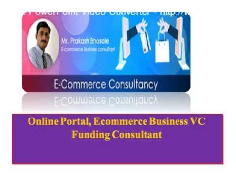 e commerce  business VC funding consultant