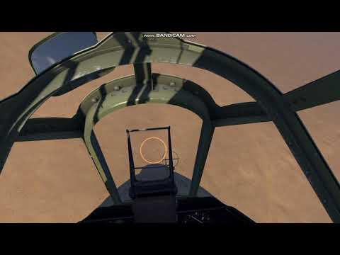 IL-2 Desert Wings Tobruk Desert Hawks Campaign: P-40 Kittyhawk vs.Bf-109F (2 kills) |