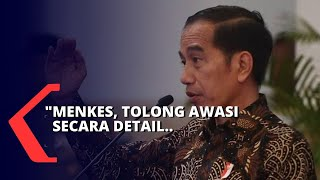 Soal Virus Corona, Presiden Jokowi Tegaskan Menkes: Awasi Terus!
