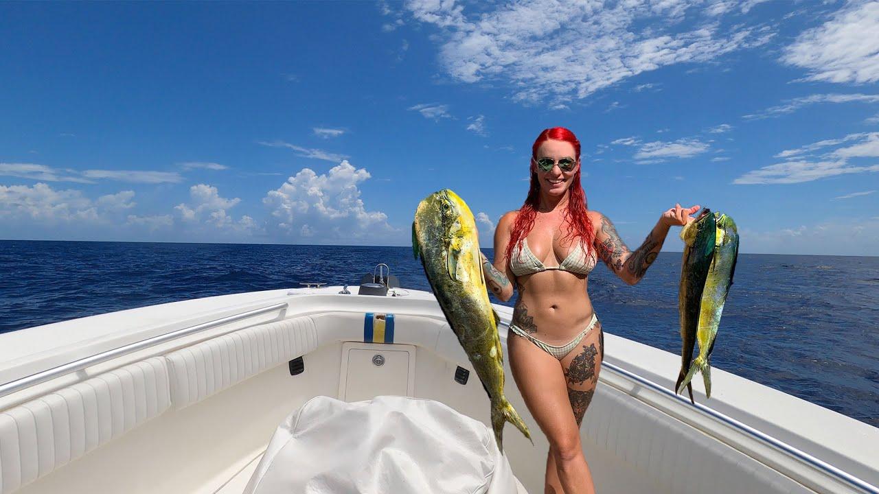 Fishing for MAHI in KEY LARGO, FL