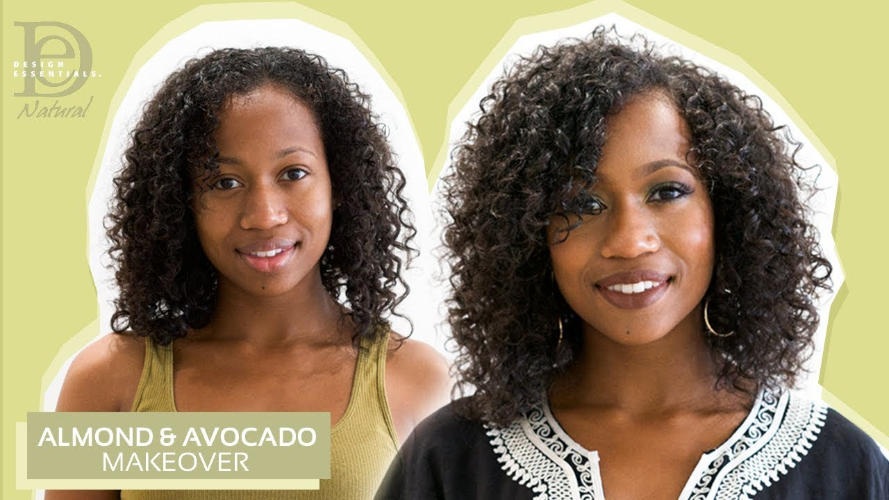 Tutorial How To Define Curls With Design Essentials Almond Avocado