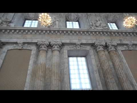 View the inside of the Royal Palace in Stockholm Sweden with Eva's Best Luxury Travel!