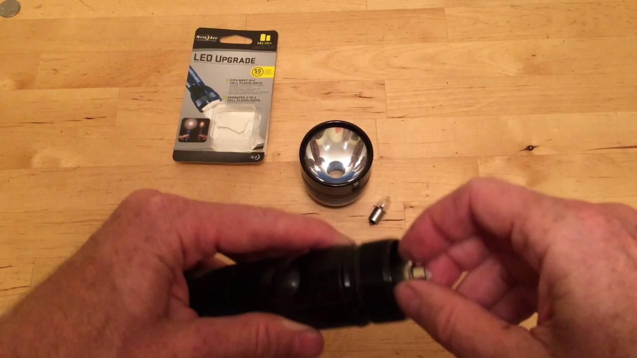 Maglite Led Bulb Upgrade