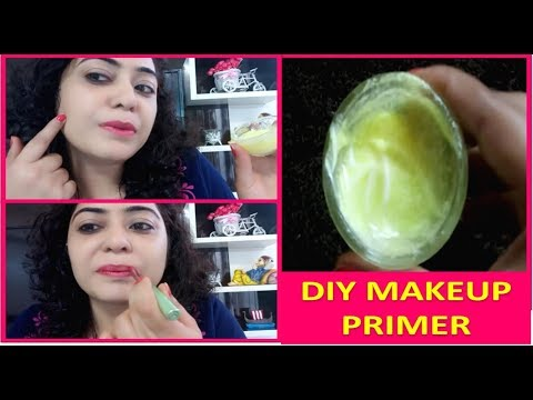 How to Make MAKEUP PRIMER AT HOME- EASY DIY MAKEUP PRIMER / face primer at no extra cost