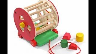 видео Логическая игрушка-сортер